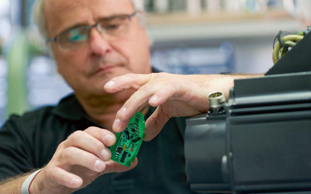 Bosch Rexroth bietet individuelle Reparaturservices