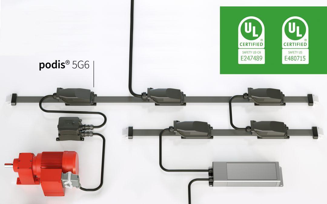 Energiebus mit UL-Systemzulassung