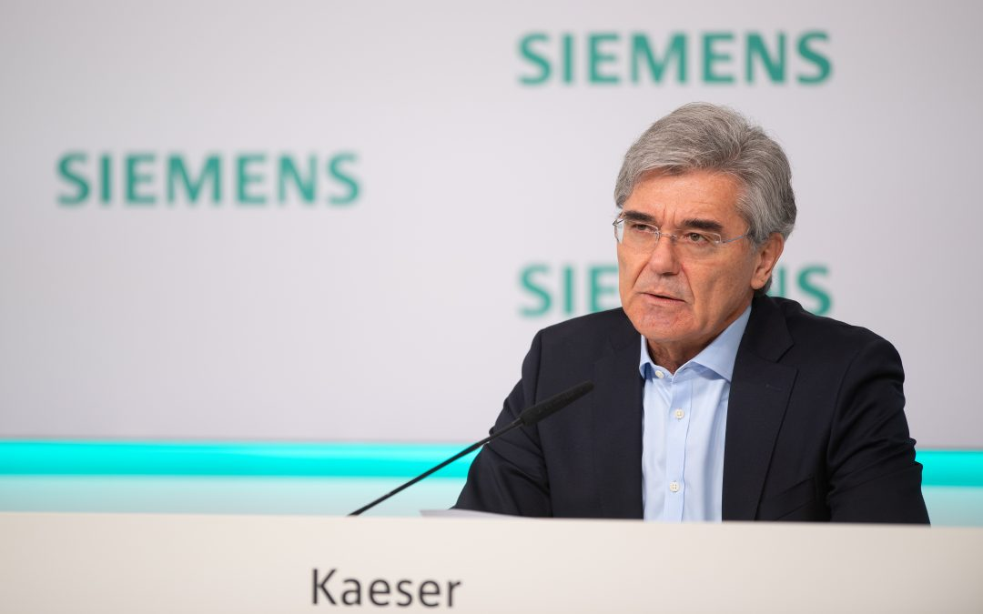 Siemens mit leichten Umsatzeinbußen