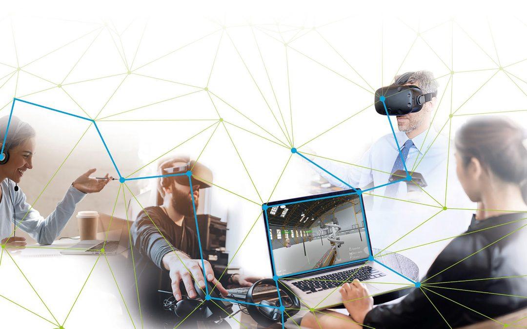 Virtuell Fabrikprozesse testen und planen
