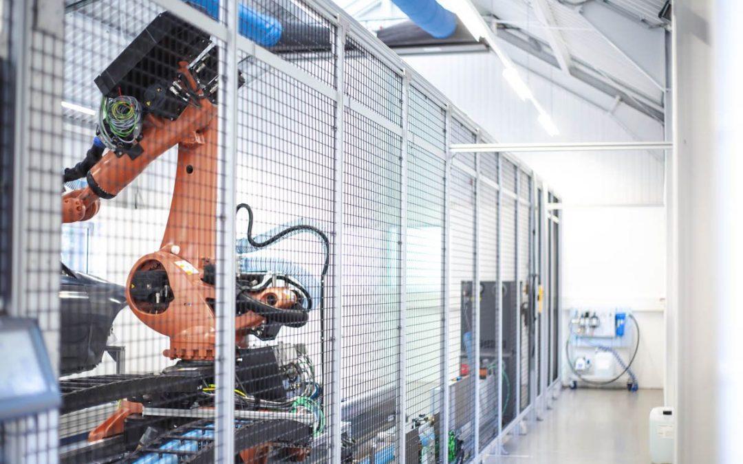 Flexible Schutzzaun-Lösungen nach Maschinenrichtlinie