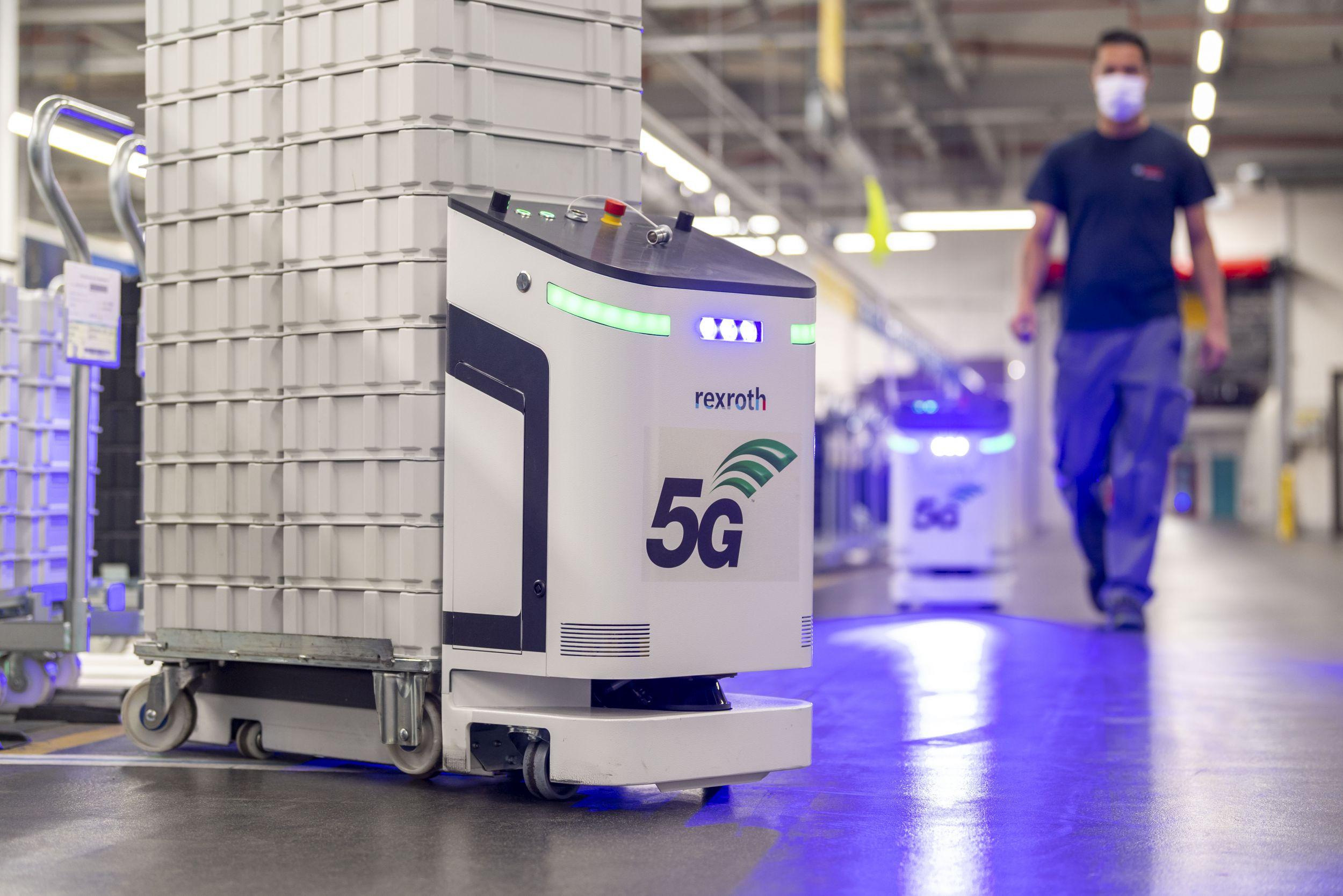 Bosch nimmt sein erstes 5G-Campusnetz in Betrieb