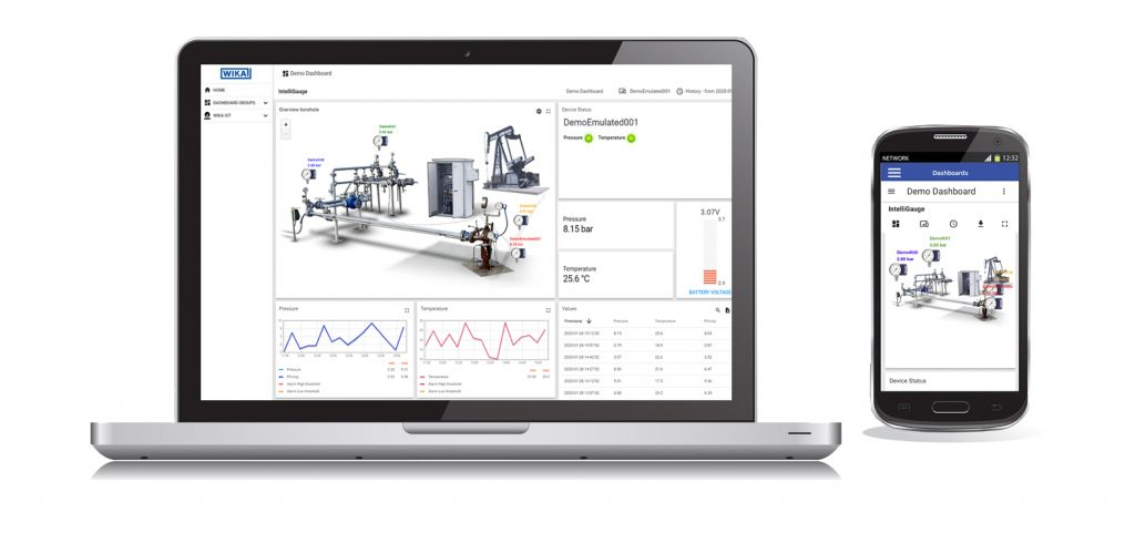 Über die Messwerte, Geräteinformationen und Analysen lässt sich ein komplexes Bild über den Ist-Zustand der Anlagen zusammenfügen und Trends ableiten.