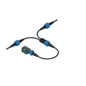 Detektierbarer M12-Steckverbinder-Schutz an der Serie ST-G