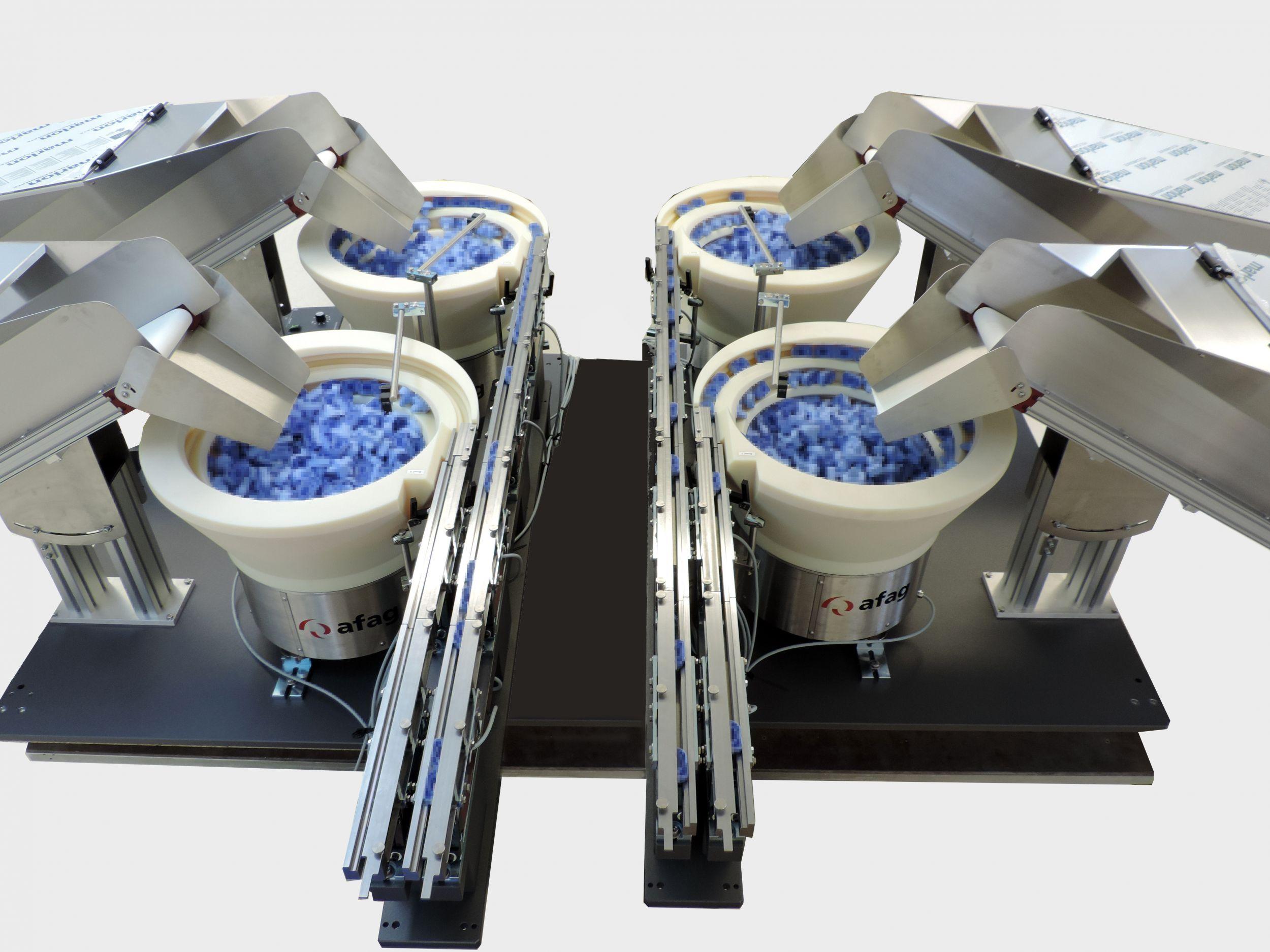 Zuführlösung für Produktionsgeräte von Covid-19-Testeinheiten