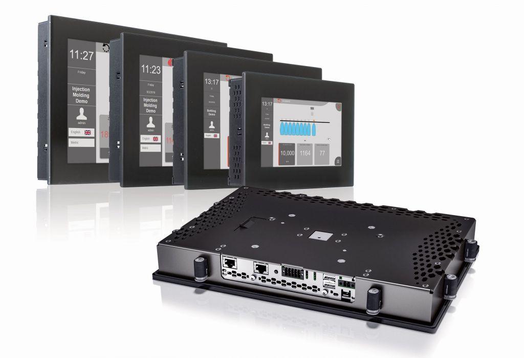 Das Power Panel C80 vereint die Vorteile einer leistungsstarken Steuerung und eines modernen Bedienterminals in nur einem Gerät.