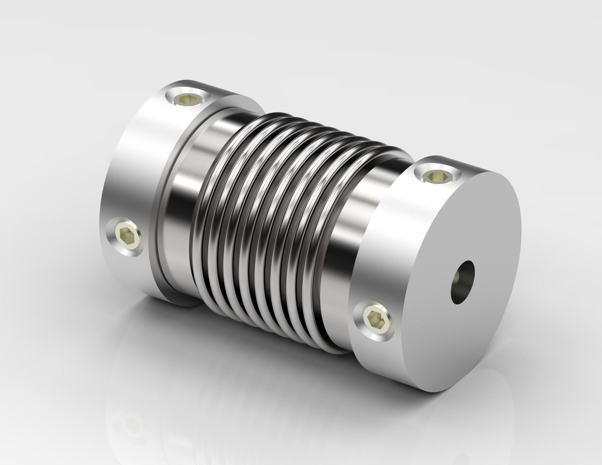 Miniaturkupplung in sechs Baugrößen