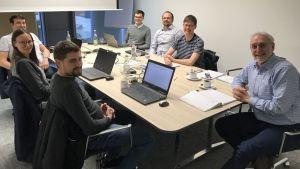 Projektpartner des Förderprojekts MobiCM (Mobiles Condition Monitoring System), Projekttreffen am 26.02.2019 in der TechBase Regensburg