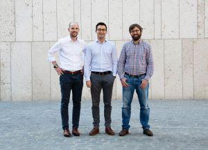 Die Spanflug-Gründer Dr. Johannes Schmalz, Dr. Markus Westermeier und Dr. Adrian Lewis (v.l.).