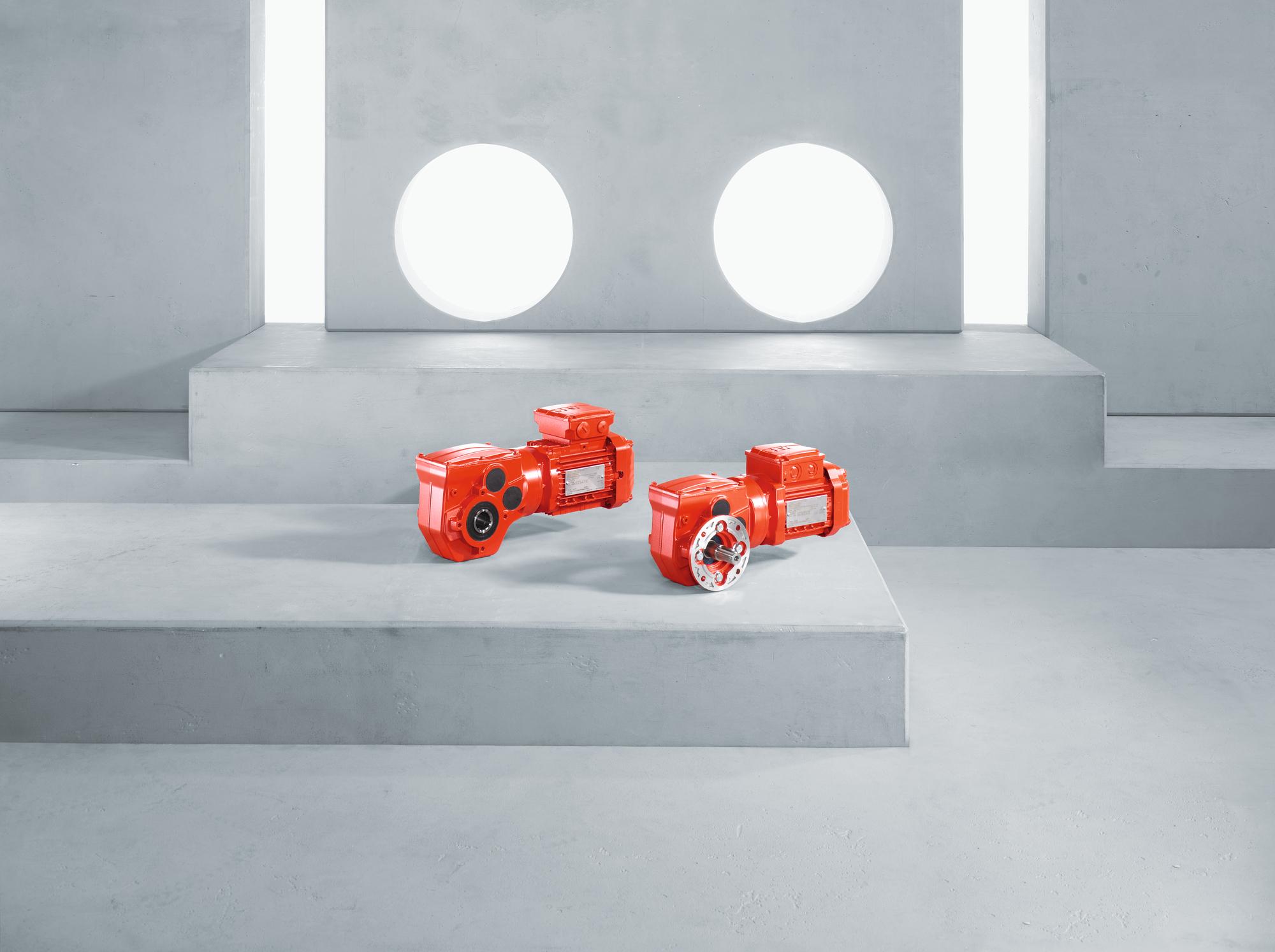 SEW stellt neue Getriebe-Baureihe vor