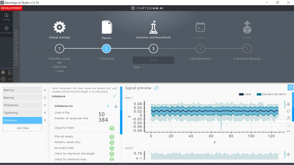 NanoEdge AI Studio wurde für die vorausschauende Instandhaltung entwickelt, so der Hersteller.