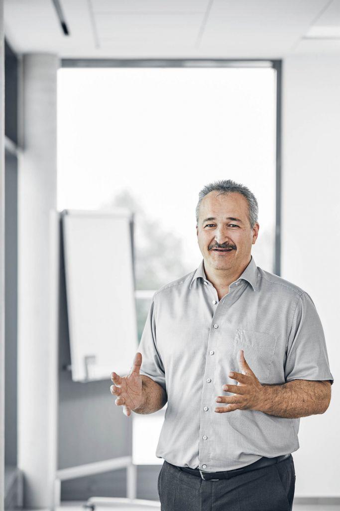 Werner Meditz ist technischer Leiter bei Arno Werkzeuge.