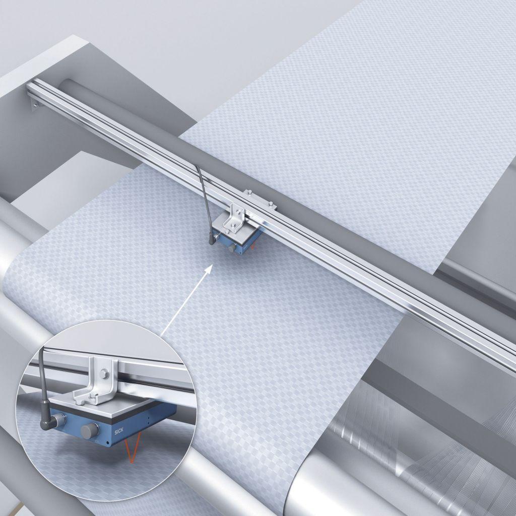 Schlupffrei, ohne Maßverkörperungen, ohne Beschädigung empfindlicher Oberflächen und ohne Abnutzung taktiler Messelemente: der Speetec ist ein berührungslos arbeitender Sensor für die  Geschwindigkeits- und Längenmessung linear bewegter Objekte.