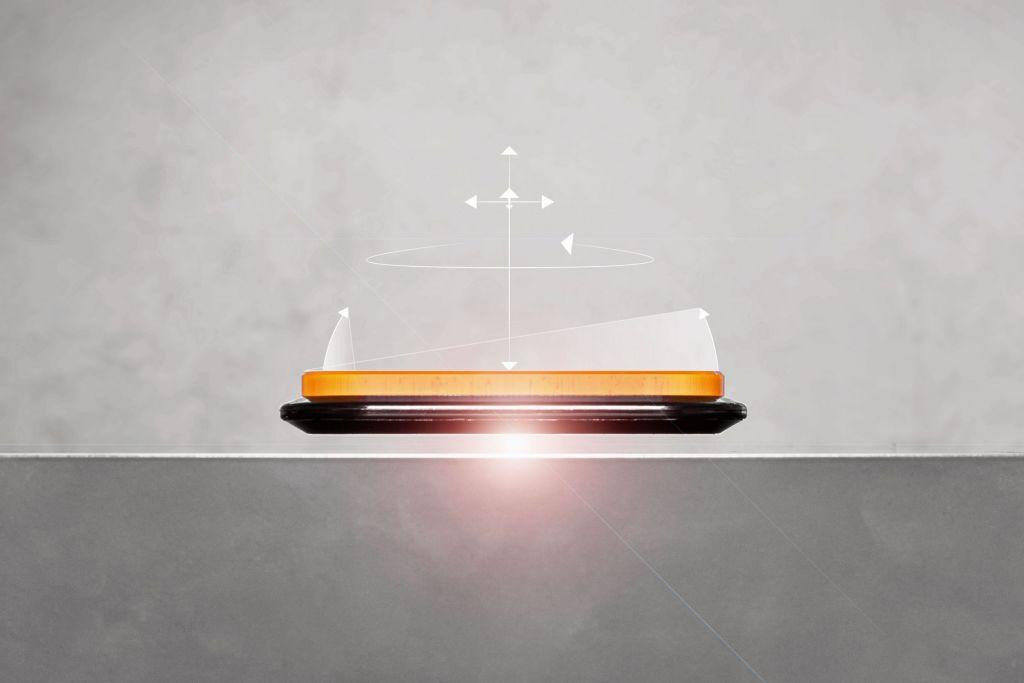 Die Magnetschwebetechnik ermöglicht Produktmanipulationen und -transporte mit sechs Freiheitsgraden.