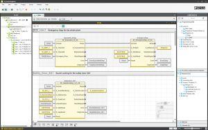 Mit der Engineering-Umgebung PLCnext Engineer lassen sich sicherheitsbezogenen Applikationen entwickeln.