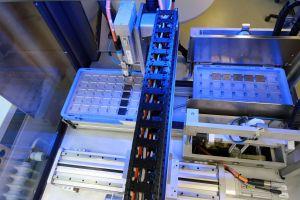 Mechanischer Aufbau des Industrie-4.0-Demonstrators.