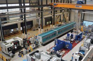 Umfassend ausgestattete F&E-Werkstatt im Nuclear AMRC.