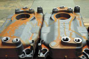 Die zu bearbeitenden Heizkessel aus Grauguss wiegen bis zu 55kg: Durch die Werkzeuge von Iscar entstehen Bohrungen und Gewinde mit hoher Prozesssicherheit.