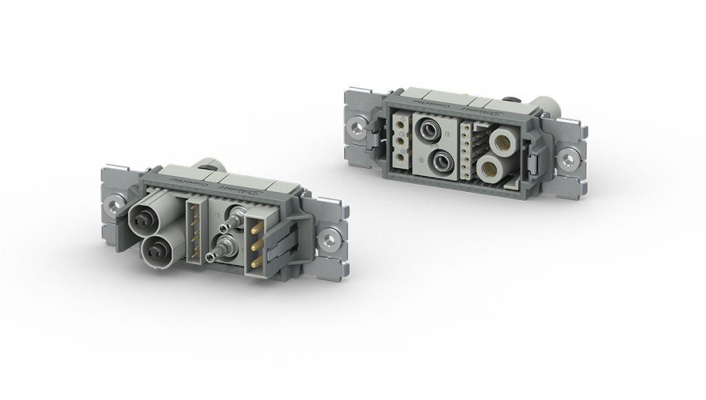 Neuer CombiTac direqt mit demClick-and-Connect-System für eine werkzeuglose Montage