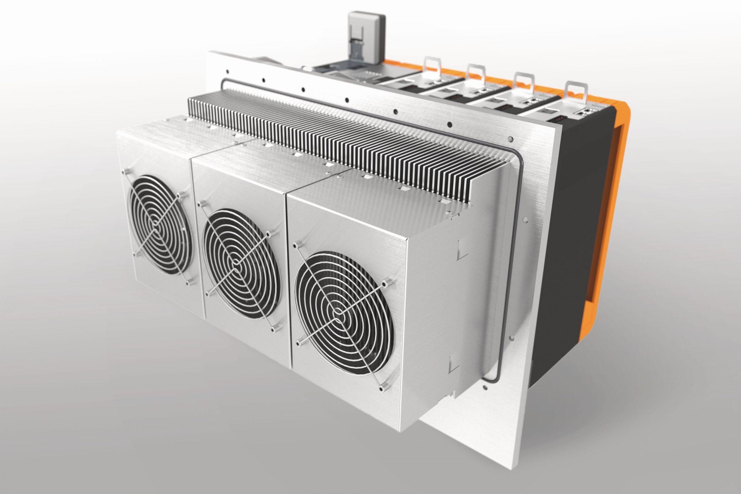 Servoverstärker mit modularem Kühlkonzept