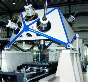 Mobile Arbeitsmaschine, an der eine Kalibrierung mit manipulationssicheren Daten vorgenommen wird