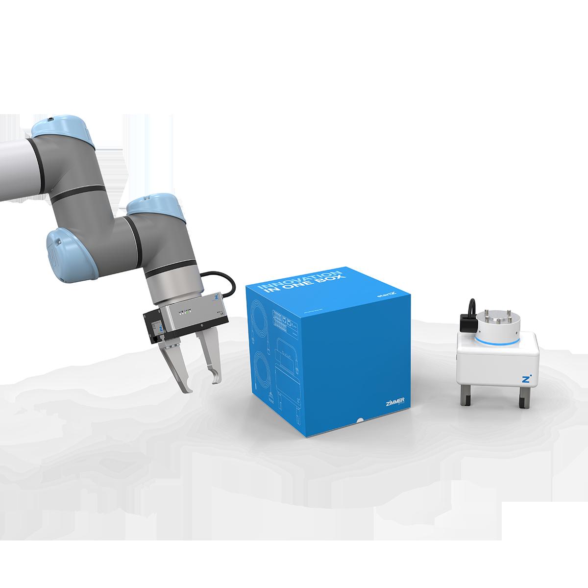 Roboter-Starter-Box zur einfachen Greiferintegration