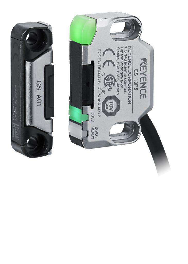 Die Sicherheitsschalter der Modellreihe GS gibt es mit mechanischer Zuhaltung oder als berührungslose Variante.