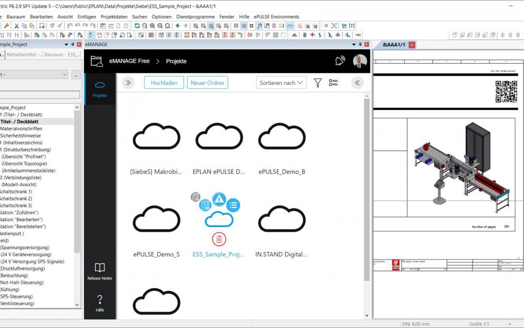 Cloud-Service trifft auf Eplan Plattform