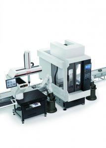 Für den produktionsnahen Einsatz konzipiert: MiStar - integriert in eine Fertigunglinie.