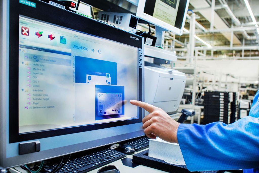 Das Shopfloor-System bietet umfangreiche Möglichkeiten, um die stetig steigenden Qualitätsanforderungen umfassend bedienen zu können.