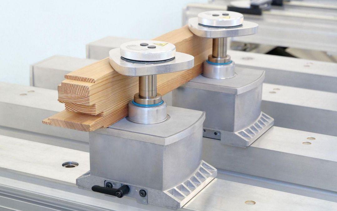 Spannsystem für CNC-Bearbeitungszentren