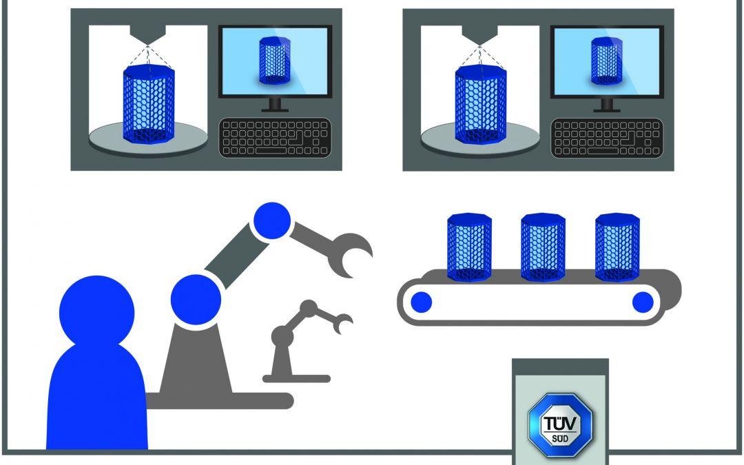 3D-Druck-Spezifikation erleichtert Aufbau einer Produktion
