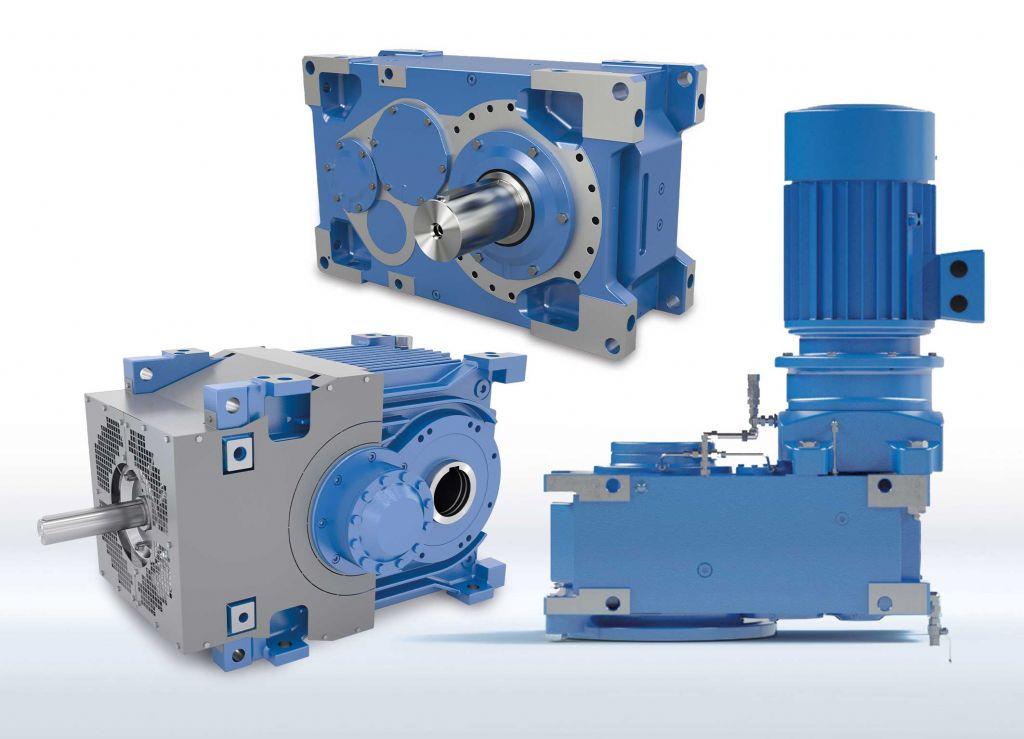 Das leistungsstarke Maxxdrive-Industriegetriebe-Portfolio auf Basis des modularen Nord-Produktbaukastens deckt alle industriellen Anwendungsfelder bis 282 kNm ab