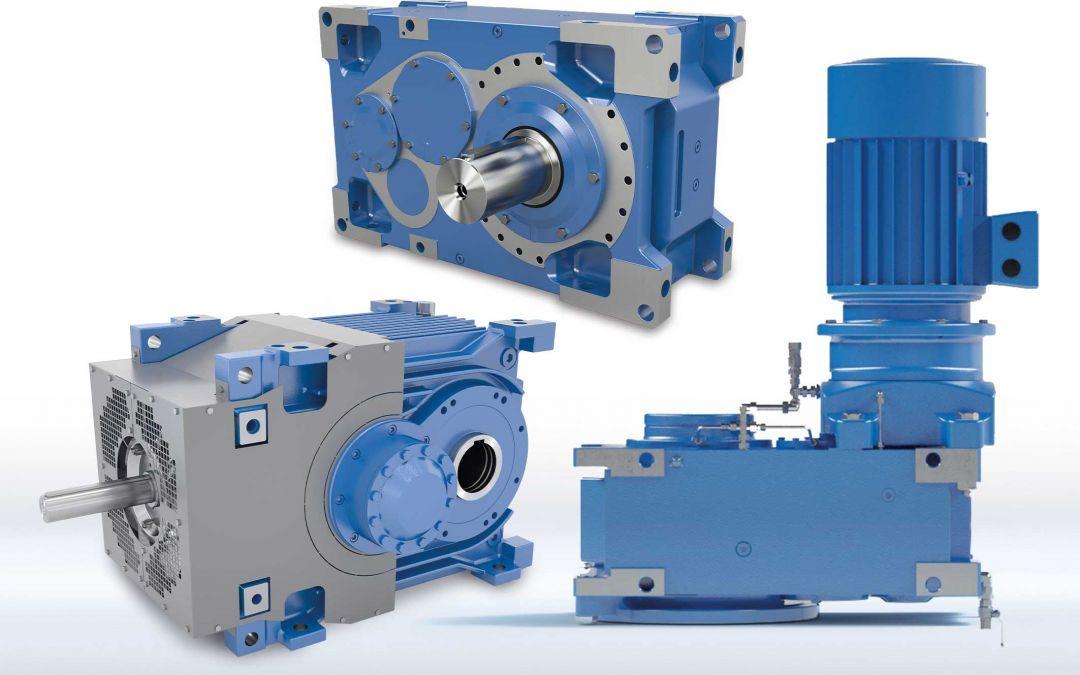 Industriegetriebe in verschiedenen Baugrößen