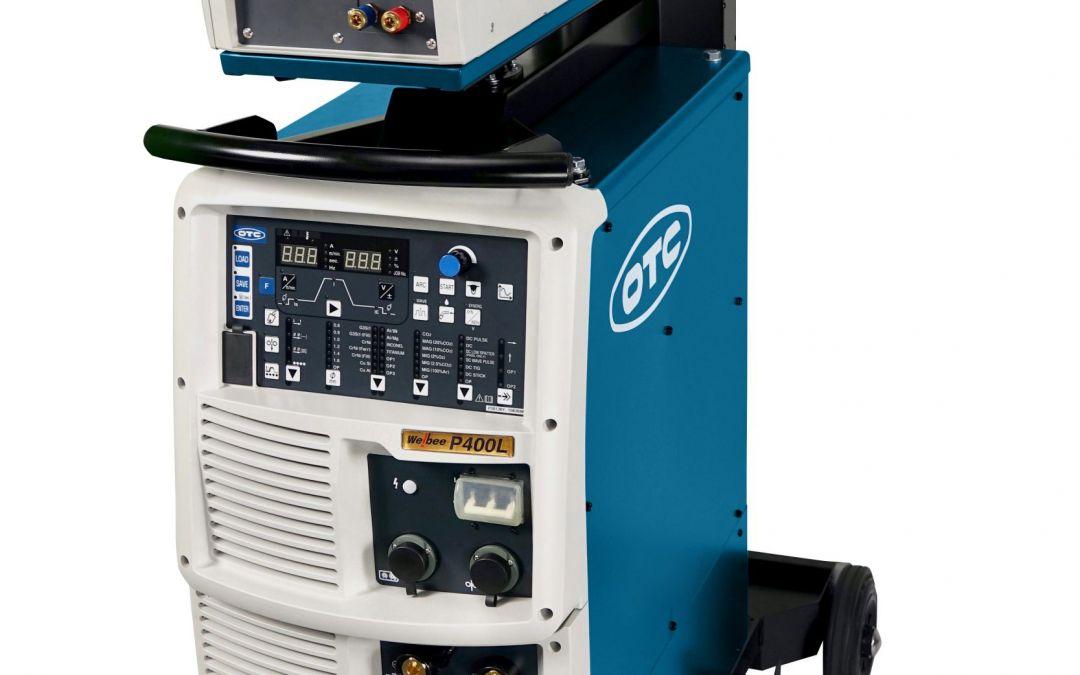 Robuste Schweißmaschine von OTC Daihen zum Dünnblechschweißen