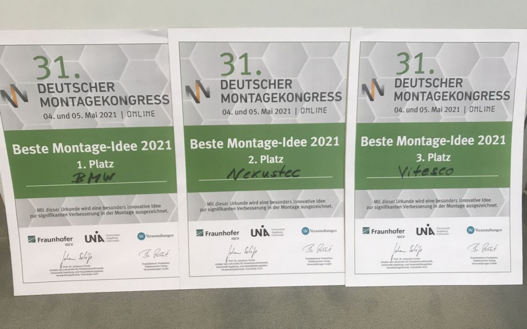 BMW ausgezeichnet: Beste Montage-Idee 2021