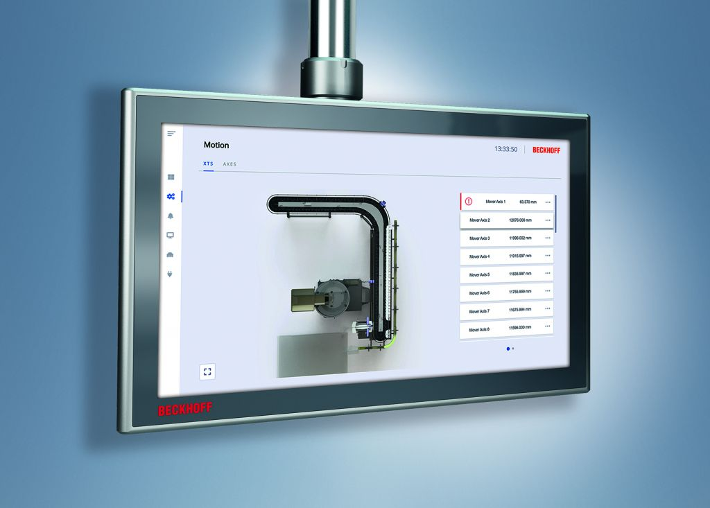 Das neue XTS HMI Control lässt sich aus der Konfiguration heraus mit nur einem Mausklick generieren.