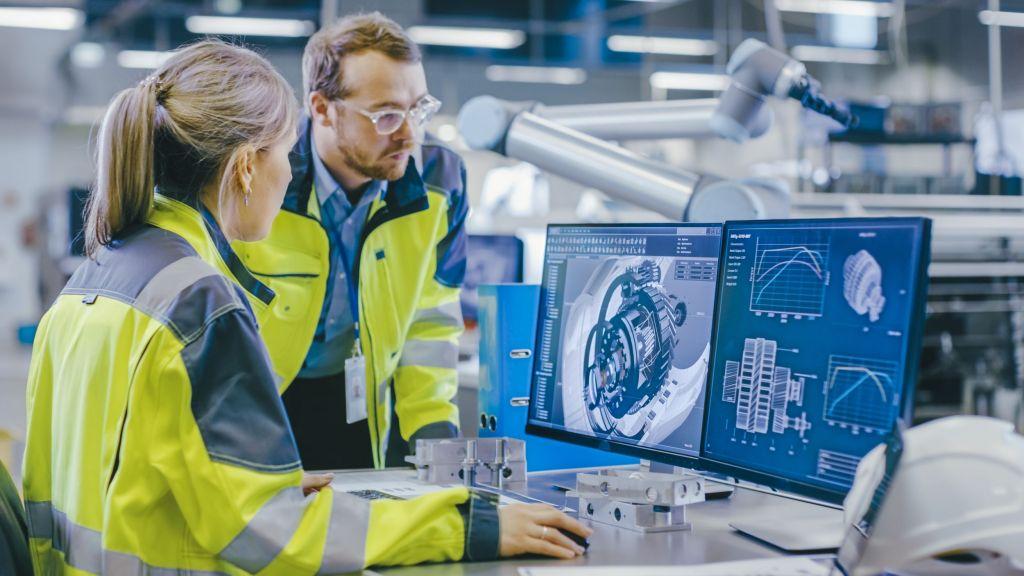 Bei der virtuellen Inbetriebnahme fallen viele Fehler bereits auf, bevor die Maschine montiert ist und Korrekturen bedeutend teurer wären.