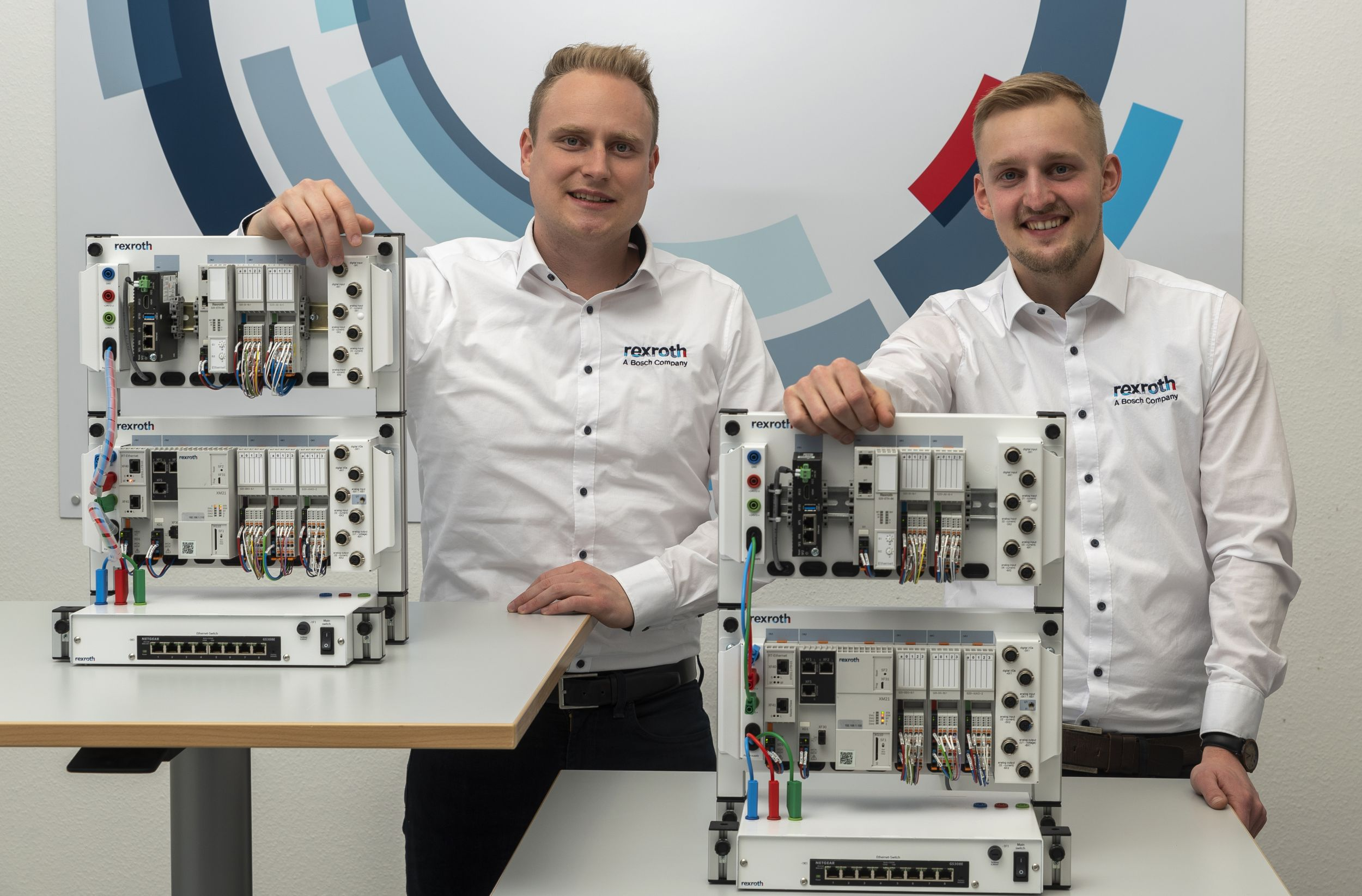 Kompaktes Trainingssystem für die vernetzte Fabrik der Zukunft