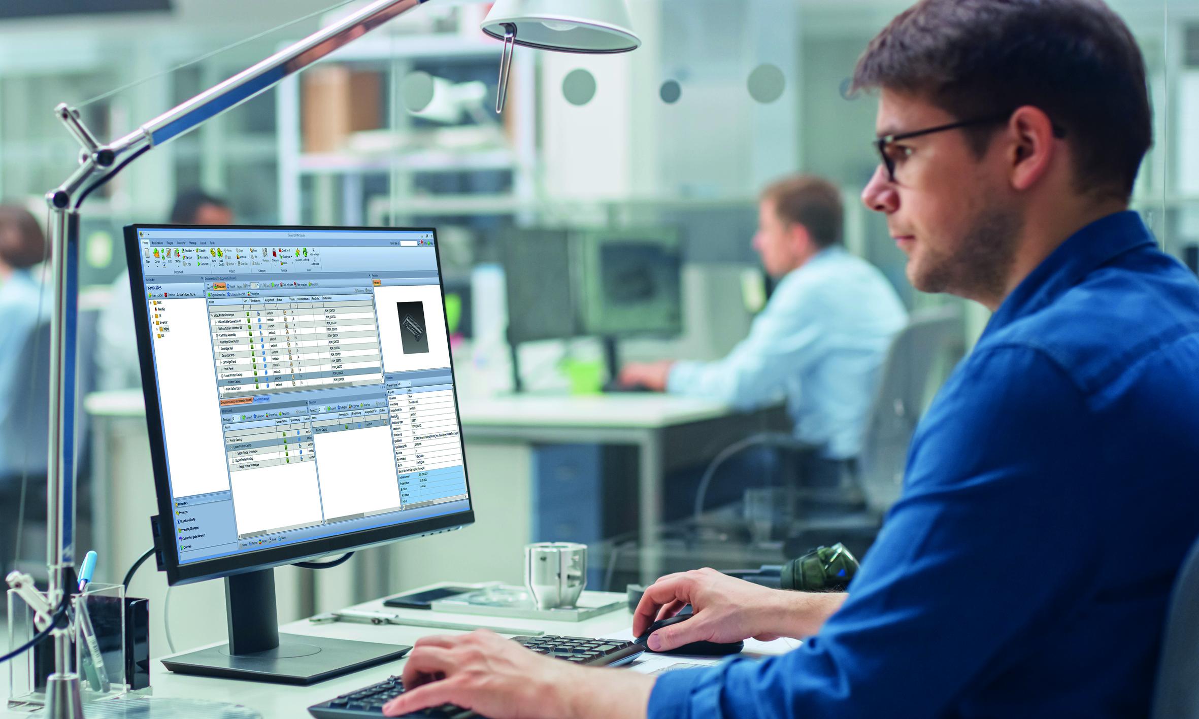 PDM-Lösung für CAD-Software Inventor