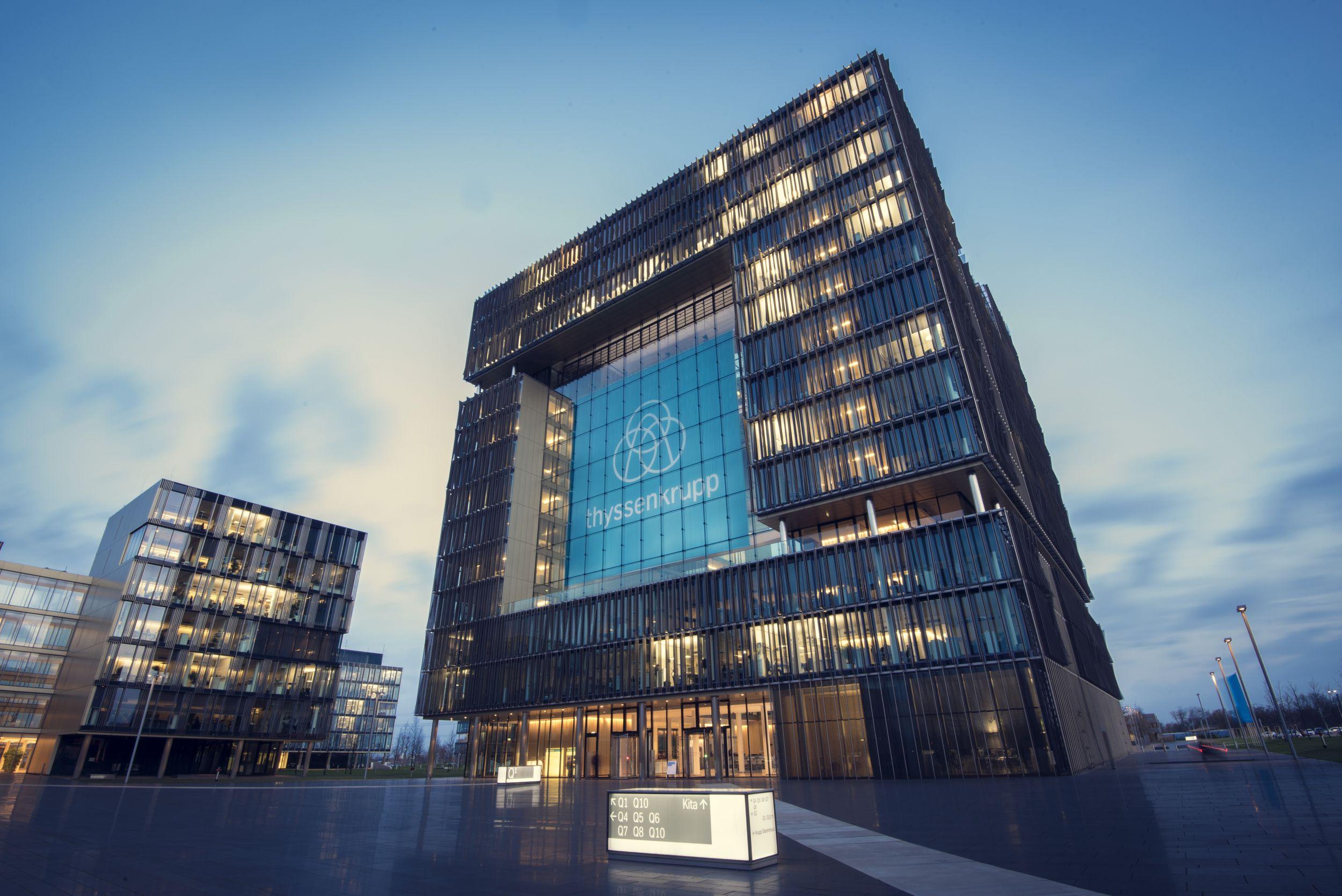 Thyssenkrupp setzt positive Geschäftsentwicklung fort