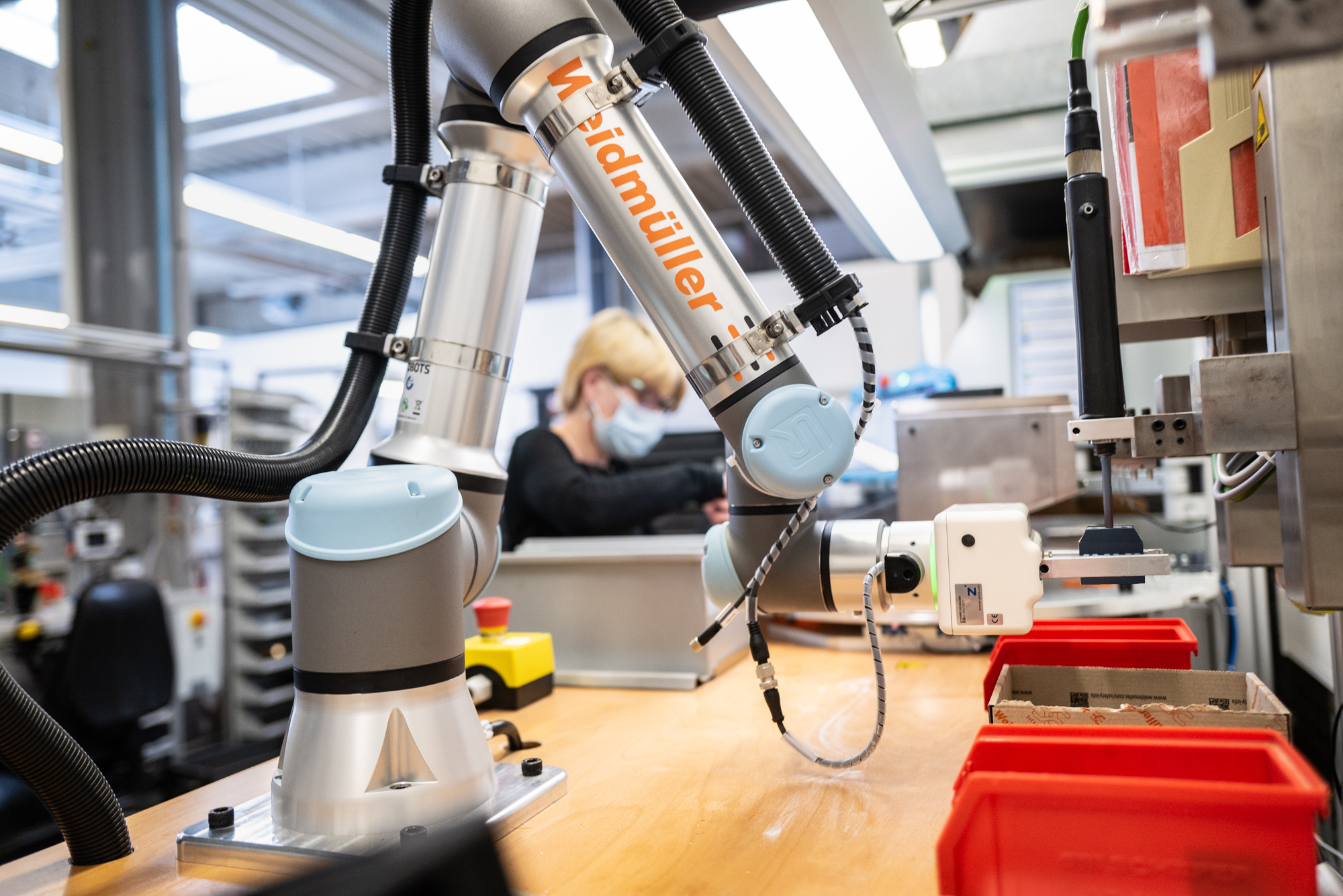 Der Roboter hat´s im Griff