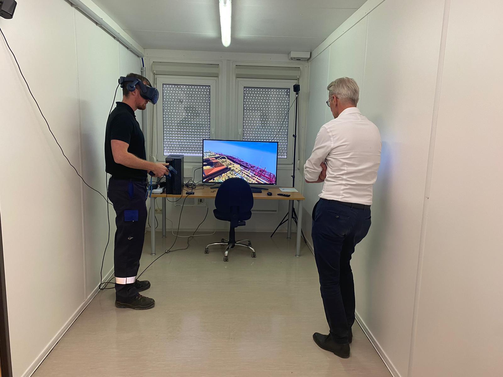 Geplant in der virtuellen Realität