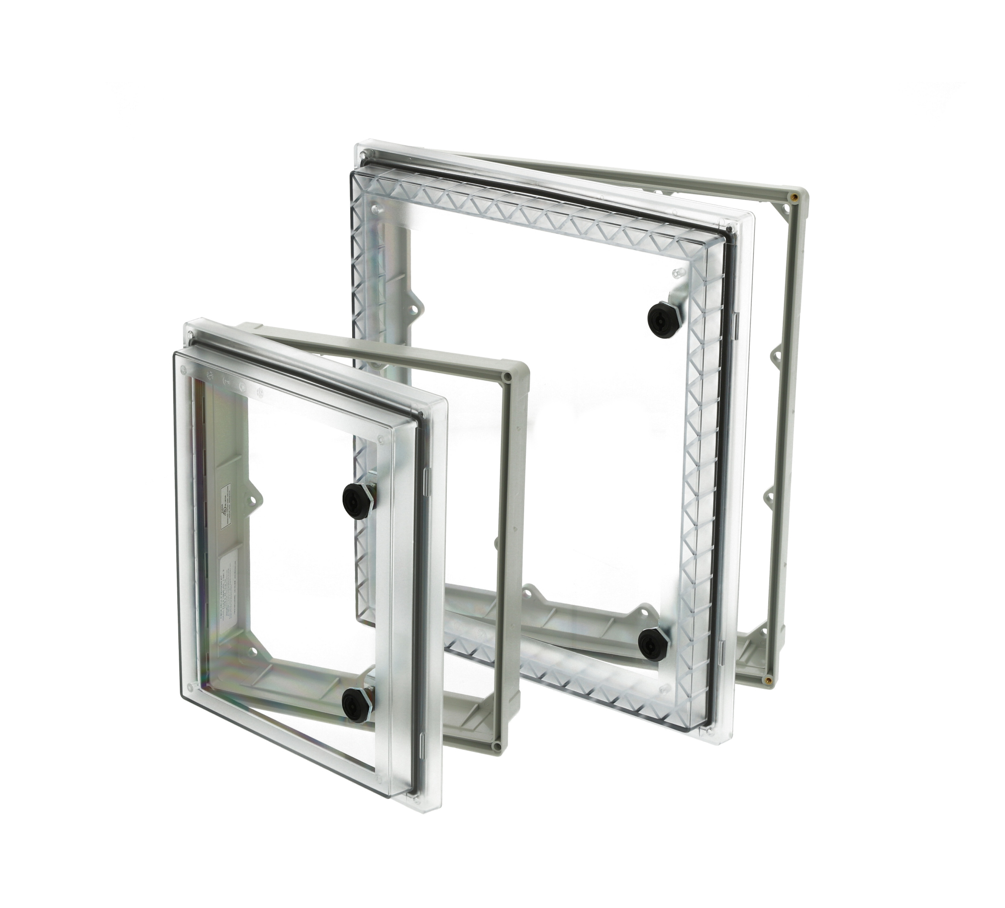 Robuste Schutzfenster für Schaltgehäuse