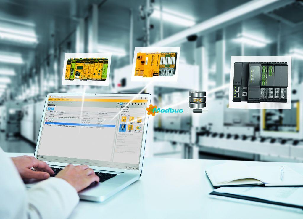 Die Visualisierungssoftware Pasvisu kann mit nahezu allen am Markt gängigen Steuerungssystemen einsetzen werden.