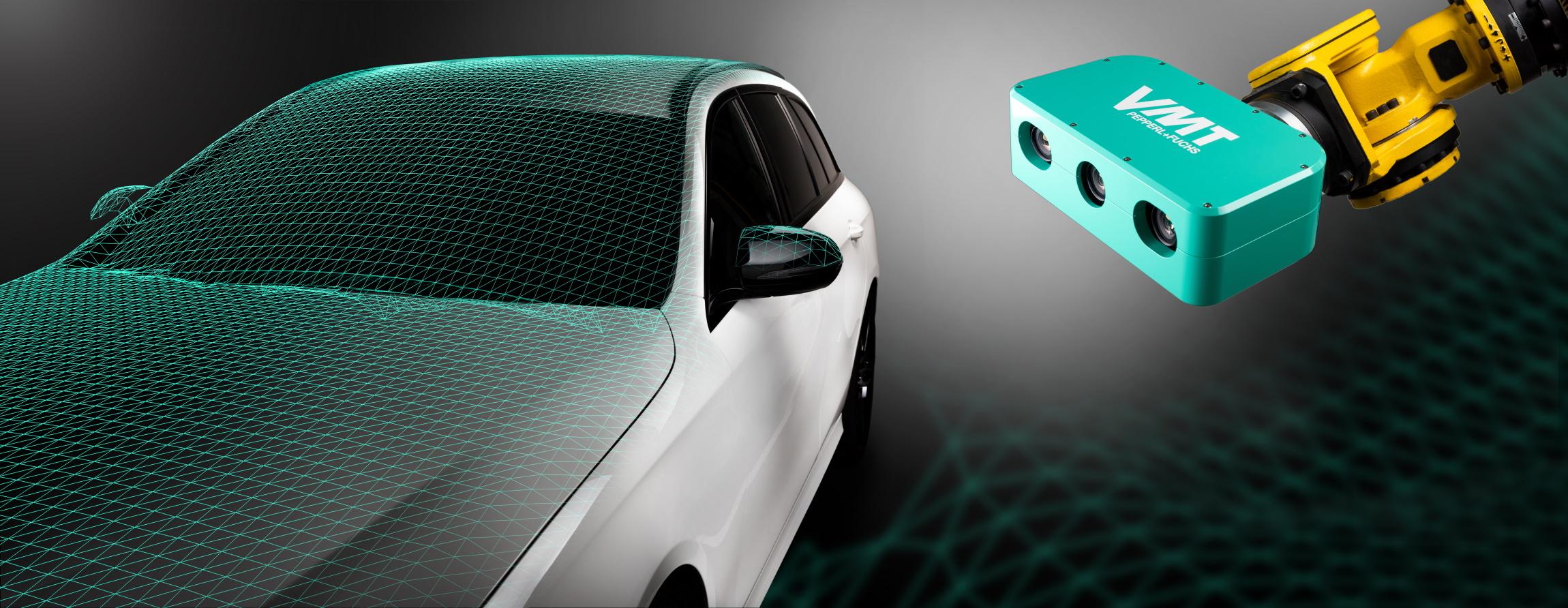 3D-Vision mit integrierter Kollisionsvermeidung