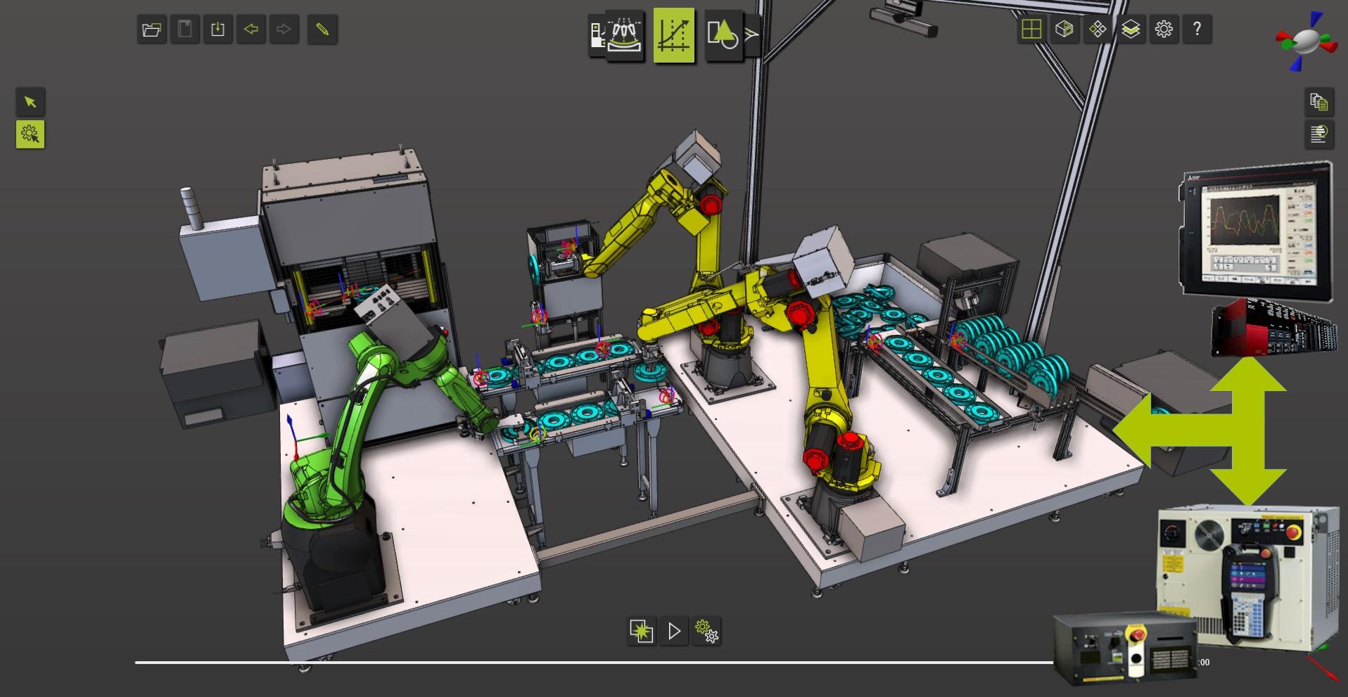 3D-Simulationssoftware im Automobilbau