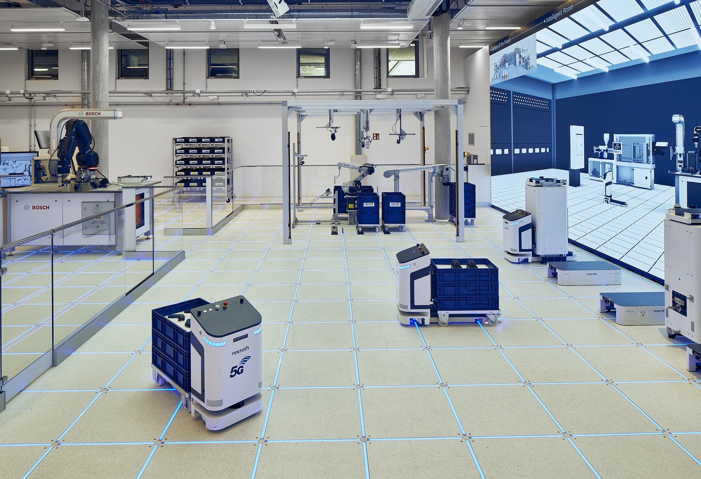 Bosch Rexroth eröffnet Kunden- und Entwicklungszentrum