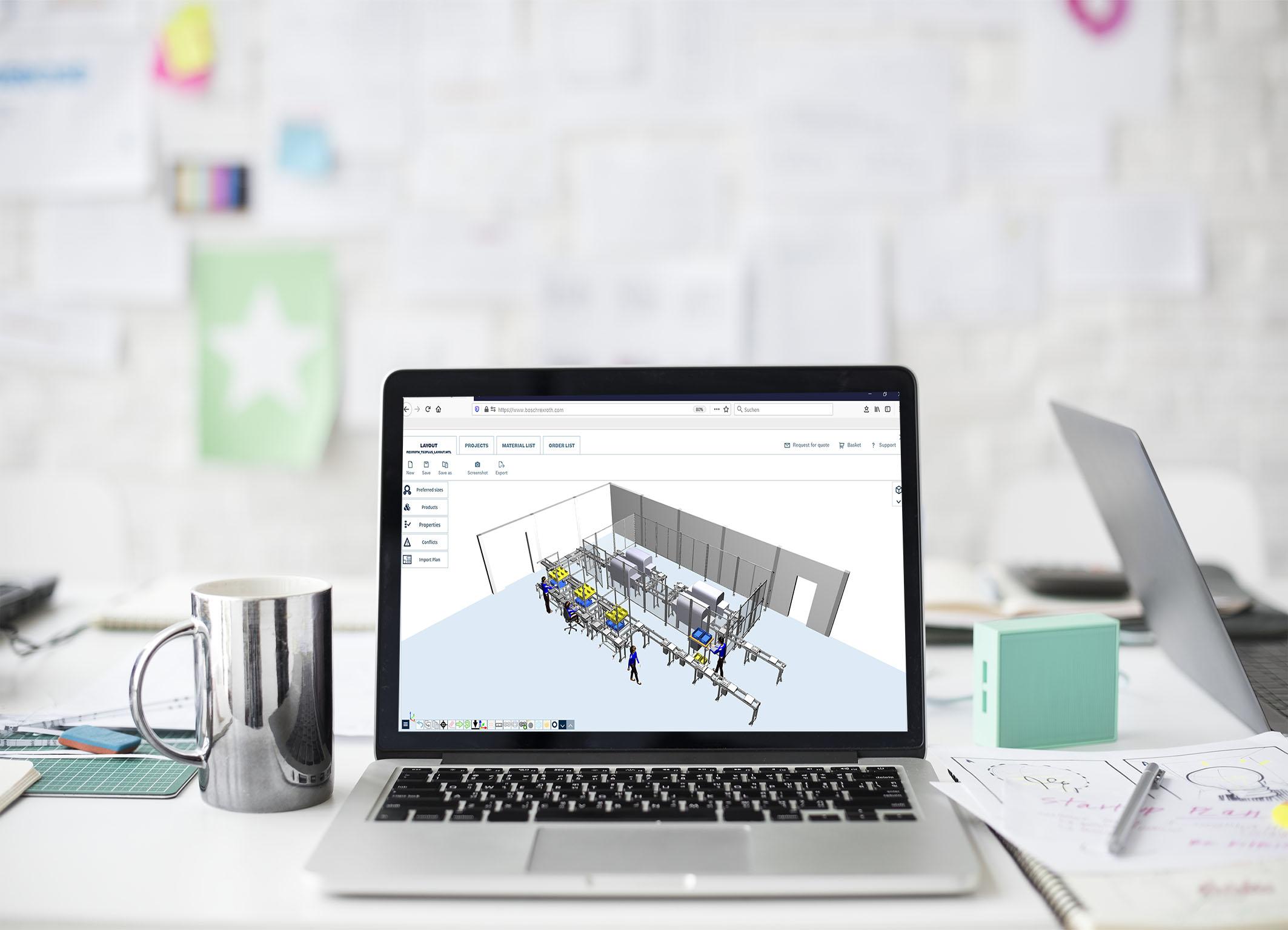 Bosch Rexroth erweitert Projektierungssoftware um Online-Version
