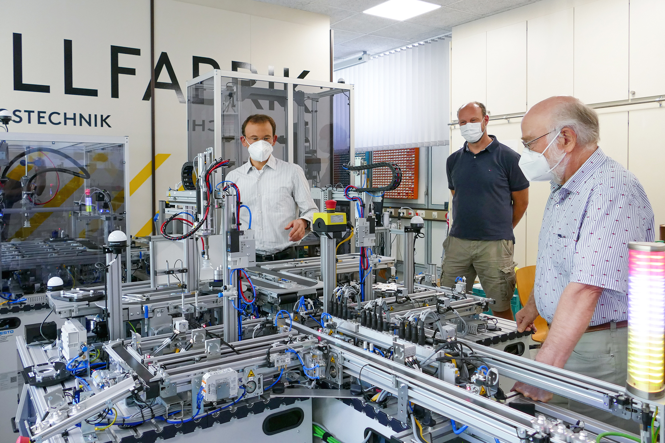 FH Münster: Neue Modellfabrik für Elektrotechnik und Informatik